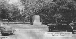 Noyes Statue in the 1940's