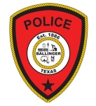 Ballinger Police patch